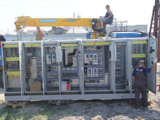 Наши работы. Электротехническое оборудование. 6