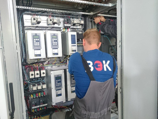 Наши работы. Электротехническое оборудование. 13